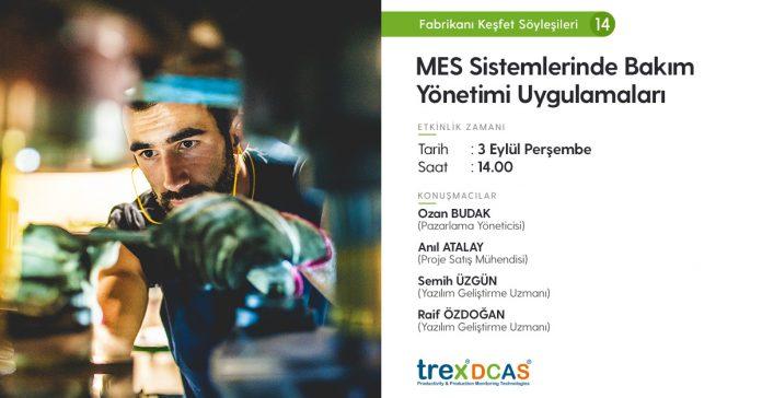 MES Sistemlerinde Bakım Yönetimi Uygulamaları